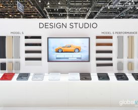 Body and 3D interaction design for booth and events.