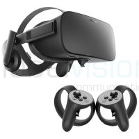 Oculus Rift VR headset with controllers
