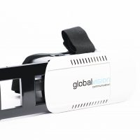 Phone-insertable VR headset