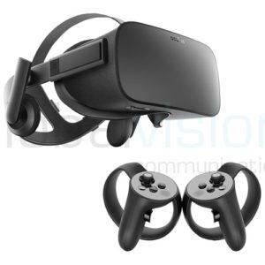 Location Oculus rift VR headset