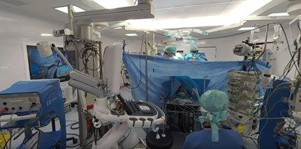 360° medical video: open-heart surgery