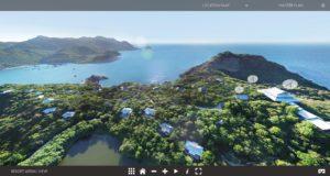 web VR virtual tour