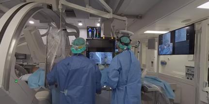 Video 360° medicale: chirurgie cardio-interventionelle