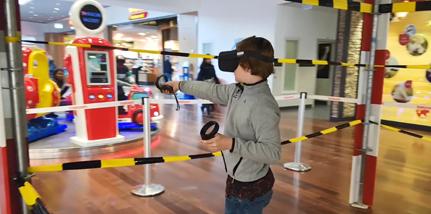 VR booth rental for Balexert shopping center